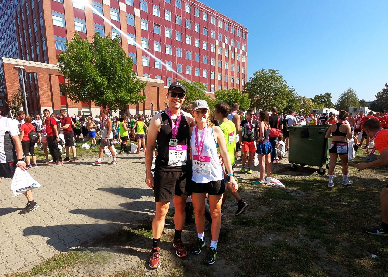Running Budapest Half Marathon