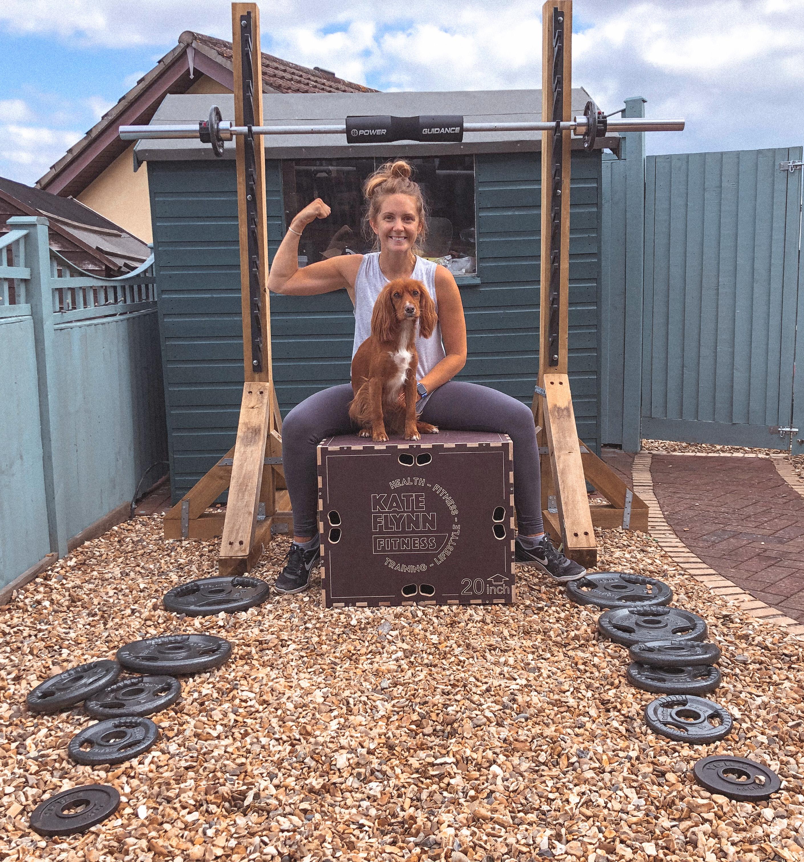 Garden gym workout motivation